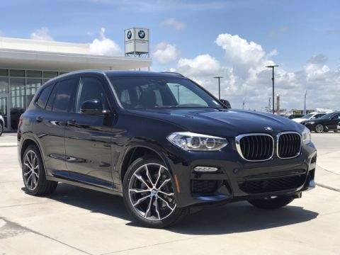 New 2019 BMW X3 sDrive30i